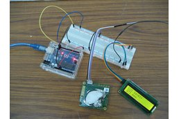 Arduino CO2 kit 2: sensor, LCD screen, cables