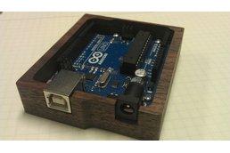 Wooden Arduino Tray