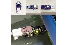 USB data flow stopper