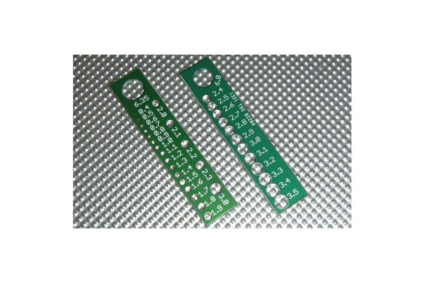 Component pin sizer SET