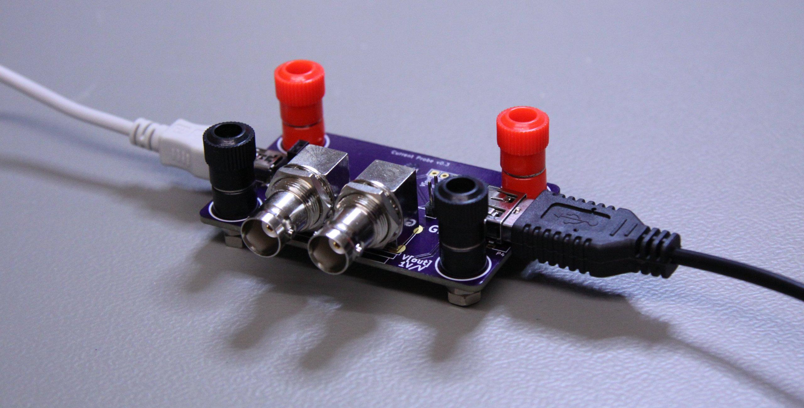 Oscilloscope Current Probe : Oscilloscope current probe adapter from leonerd on tindie