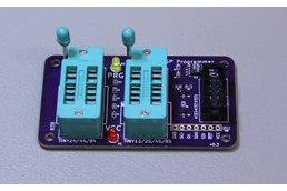 AVR HVSP Programming Bus-Pirate Adapter