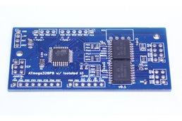 ATmega328PB Isolated Application Board