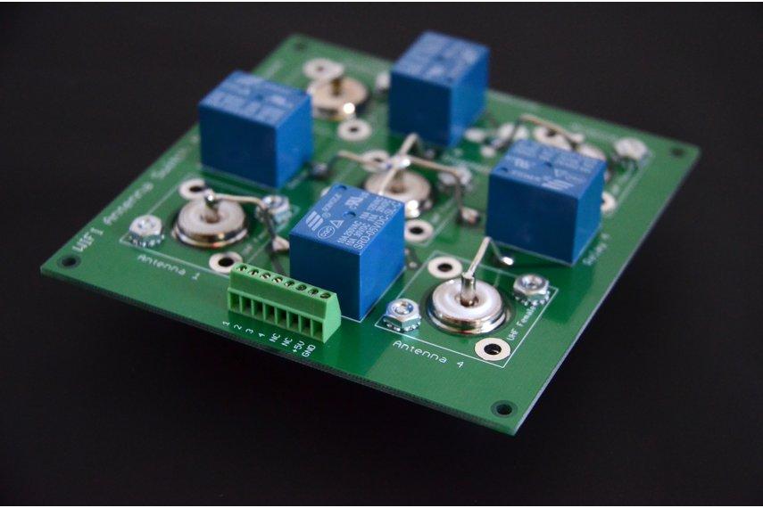 WiFi Wireless Ham Radio Coax Antenna Switch