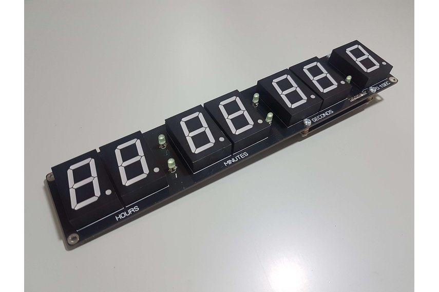 Digital SSD Bluetooth Clock Kit.