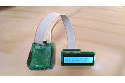 Arduino LCD Breakout and Prototype Kit