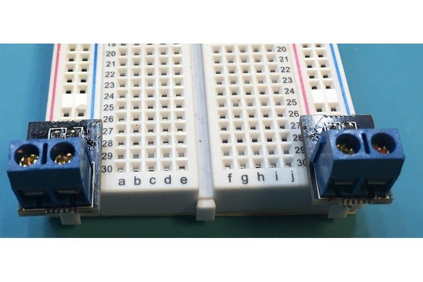 Breadboard Helper Terminals