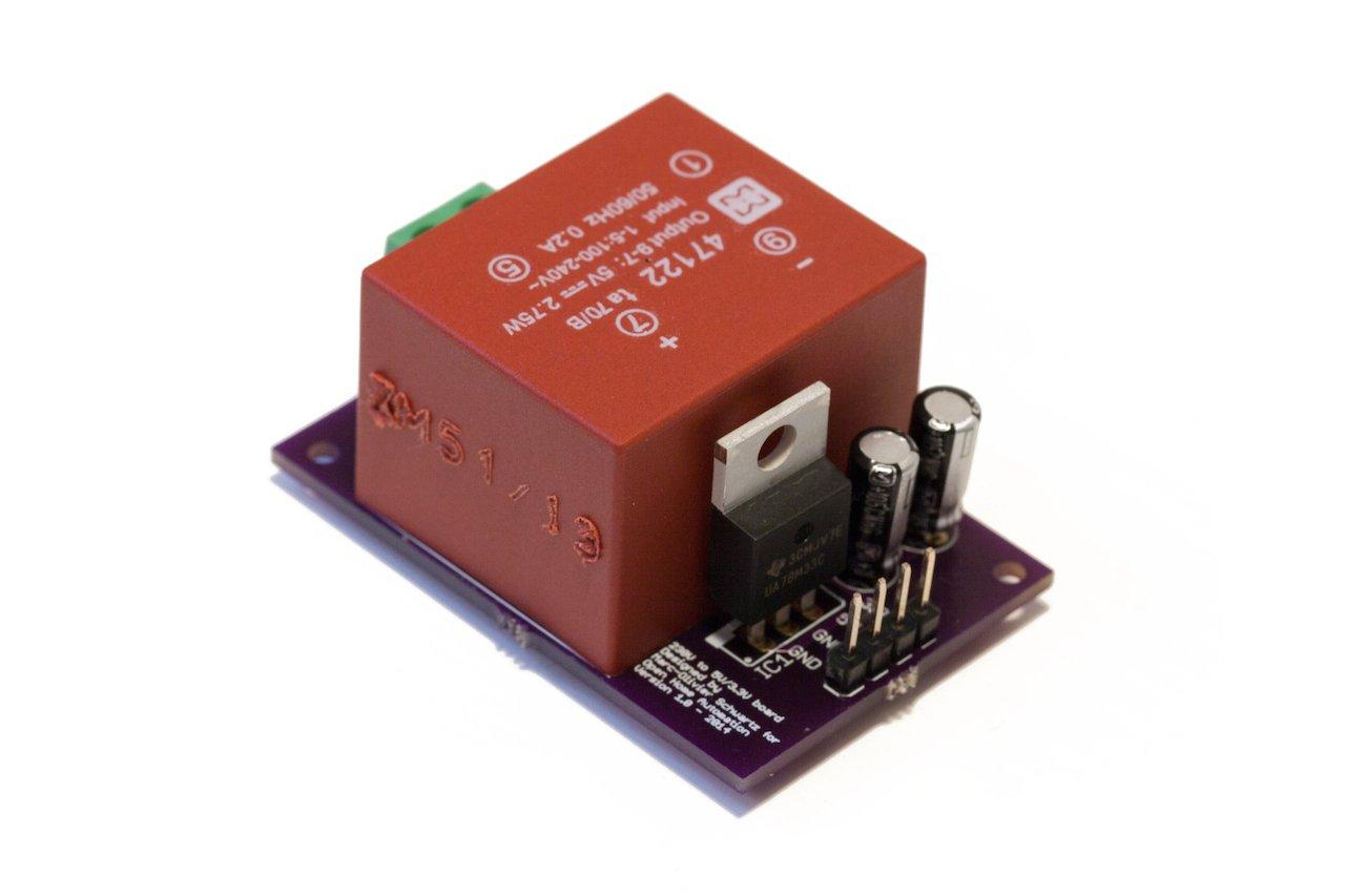 Arduino power supply from marcoschwartz on tindie