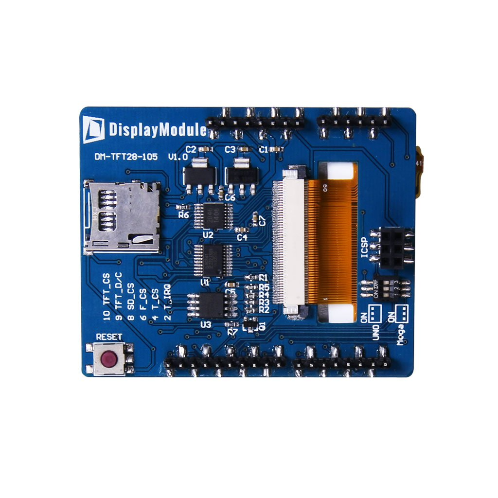 Quot tft lcd display module for arduino and mbed from