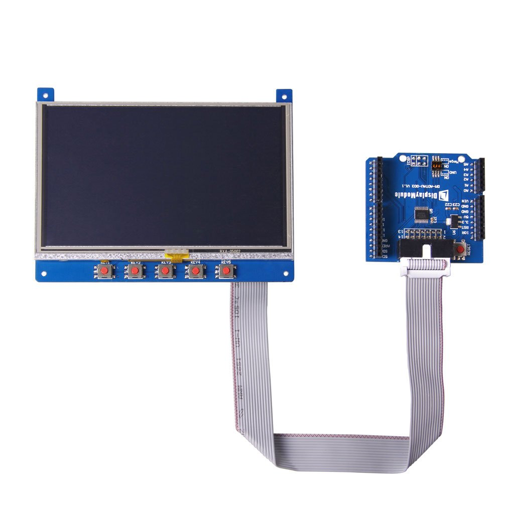 Quot display for arduino and mbed from displaymodule on tindie