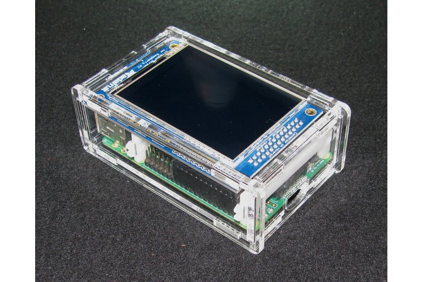 """Raspberry Pi A+/B+ 2.8"""" PiTFT Case"""