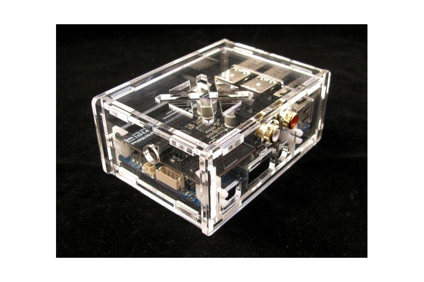 Odroid C1+ Case with HiFi Shield