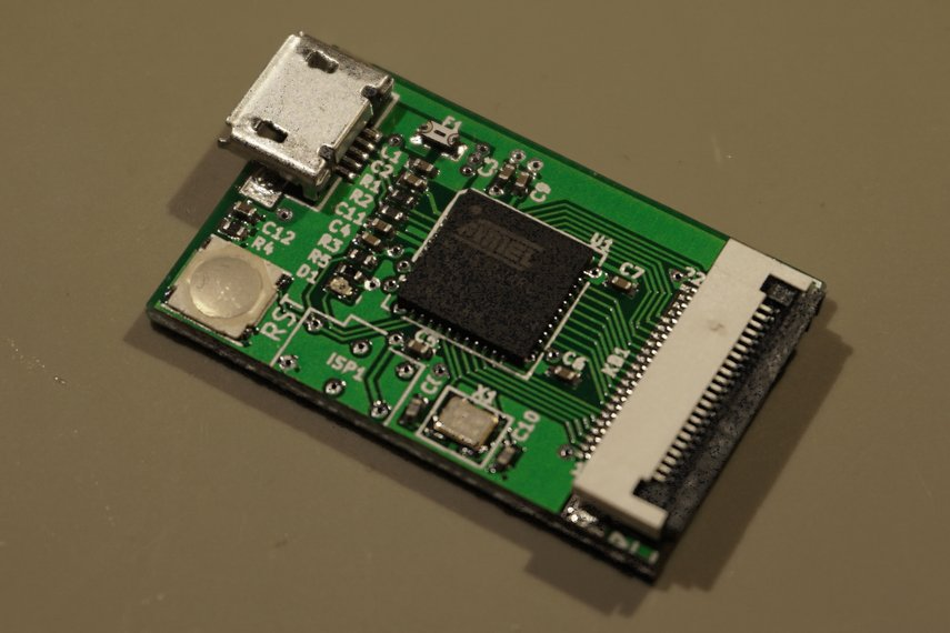 USB keyboard adapter for Psion Series 5 keyboards