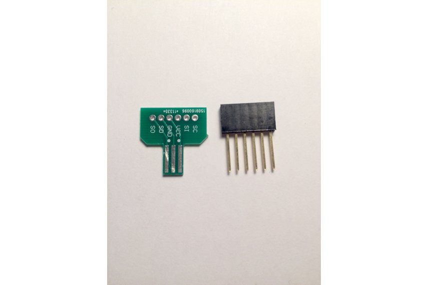 Gameboy color advance sp link cable breakout board from