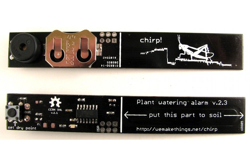 Chirp! - plant watering alarm