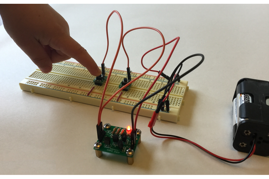 Transistor Based NAND Gate