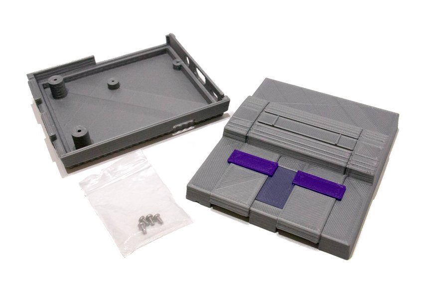 3D Printed SNES Case for Raspberry Pi