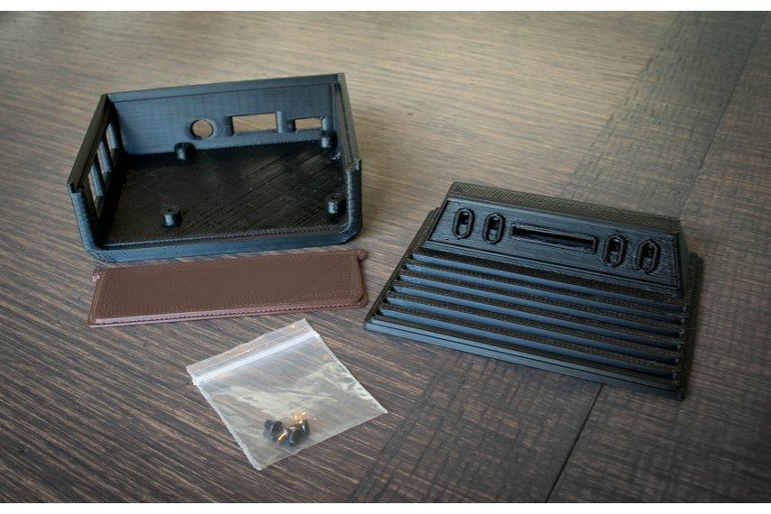 3D Printed Atari 2600 Case for Raspberry Pi