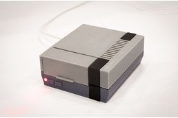 3D Printed NES Case for Raspberry Pi w/ Fan & LED