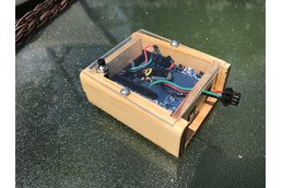 Wood project case for Arduino