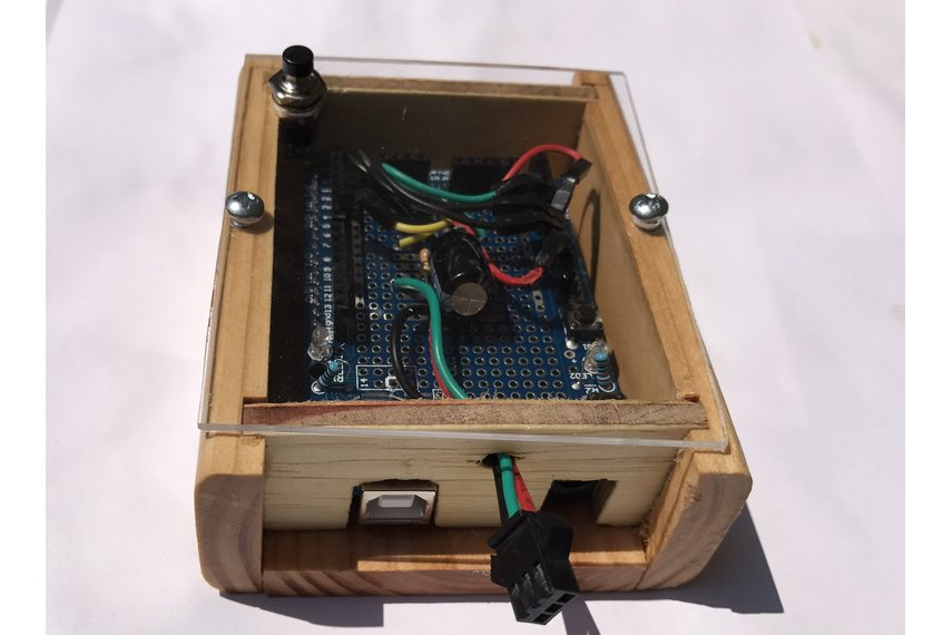 Finished Electronic Project Box (Arduino)
