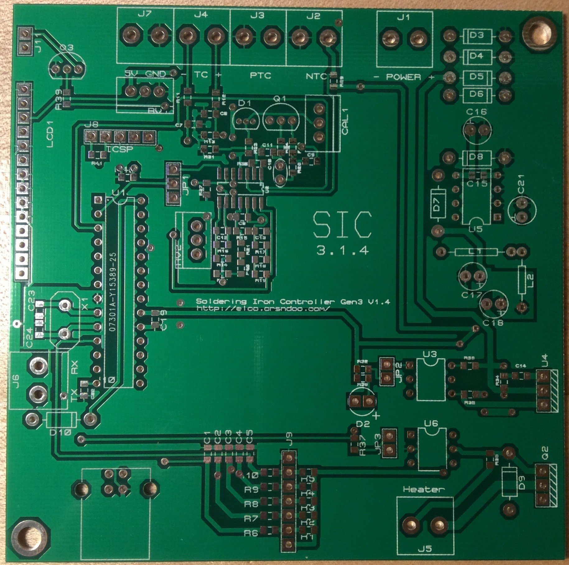 soldering iron controller driver pcb only from tomkeddie on tindie. Black Bedroom Furniture Sets. Home Design Ideas