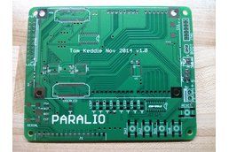 Paralio - IO for Parallella rev 1.0 PCB only