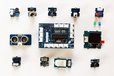 2014-08-11T15:59:54.223Z-GrovePi Starter Kit Grove Sensors Laid out from above.JPG