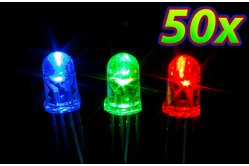 [50pcs] 5mm RGB LED