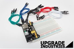 27pc Solderless PCB Breadboard Wiring Proto Kit
