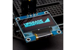 128x64 Blue I2C OLED Display - 0.96 inch