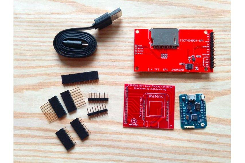 ESP8266 WiFi Color Display Kit 2.4″