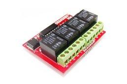 Bluetooth relay sheild for arduino