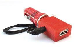 2x Car Charger Bluetooth Audio Adapter Kit - 2pcs