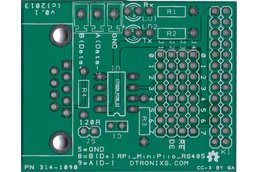 Raspberry PIIO - RS485 add-on board (PCB only)