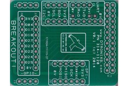 Raspberry PIIO - MiniPIIO Breakout! add-on board - PCB Only