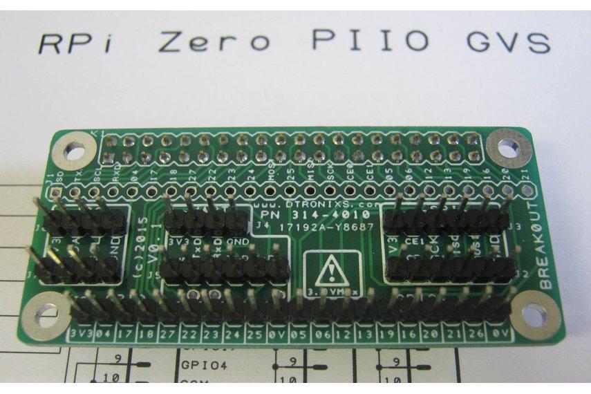 Raspberry Pi Zero - PIIO Breakout!