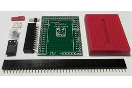 Raspberry PIIO - MiniPiio Breadboard add-on board - Kit Only
