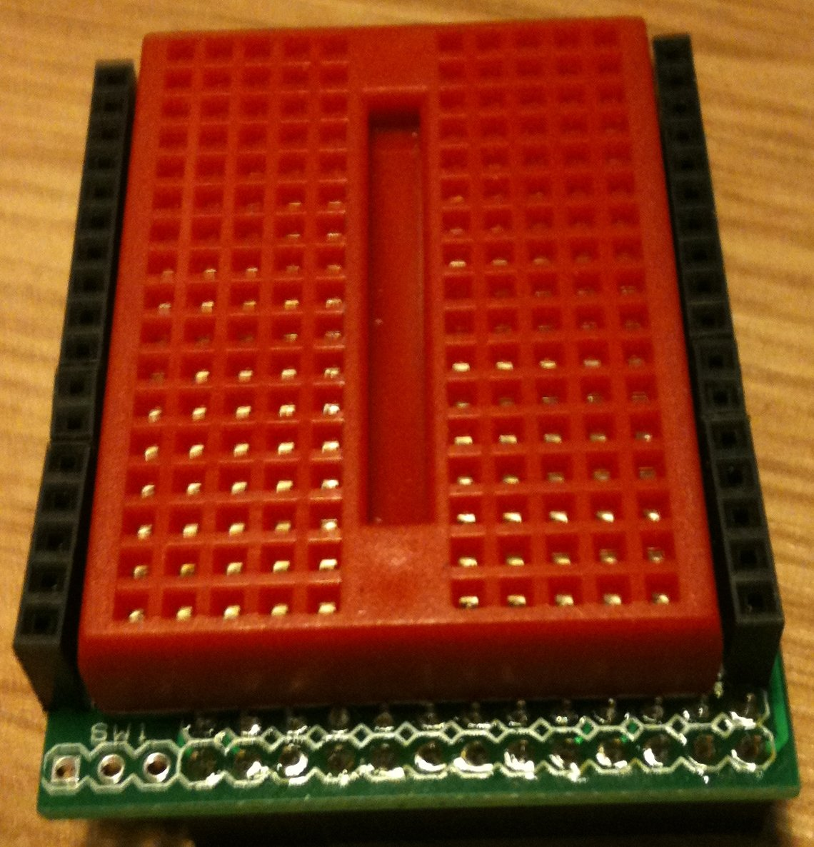 What Is A Breadboard Raspberry Pi Forums Solderless Mini Pcb Circuit Board Prototype This Specific