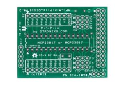 Raspberry PIIO - MiniPiio DIO16 - 16ch Port Expander add-on board - PCB only