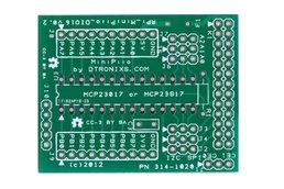 Raspberry PIIO - DIO16 16ch Port Expander (PCB)