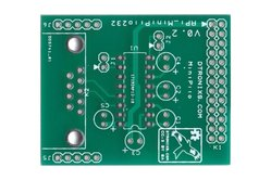 Raspberry PIIO - MiniPiio RS232 add-on board - PCB only