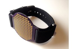 strapOn purple - The wearable protoboard