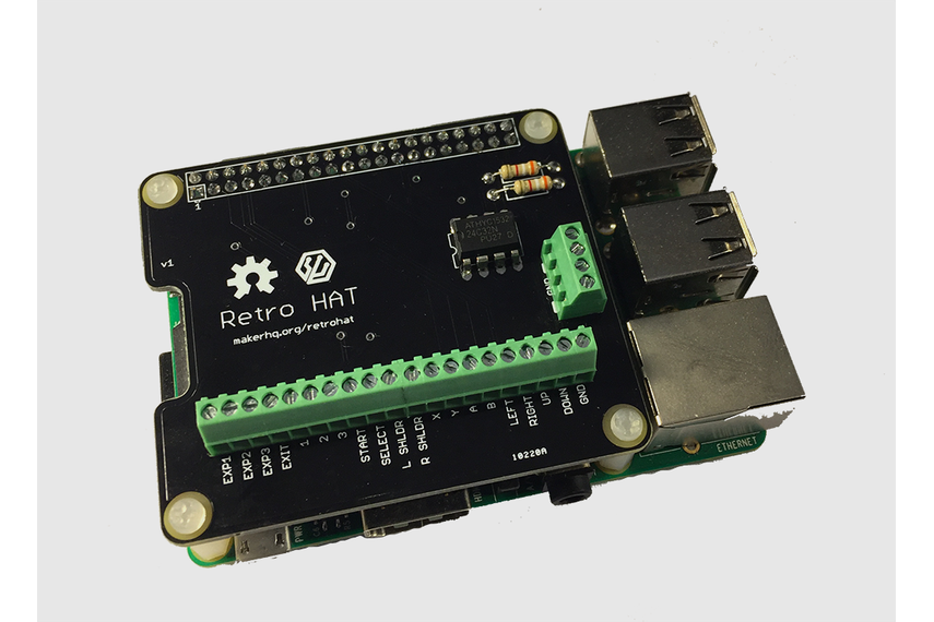 RetroHAT - Raspberry Pi MAME Wiring Made Easy