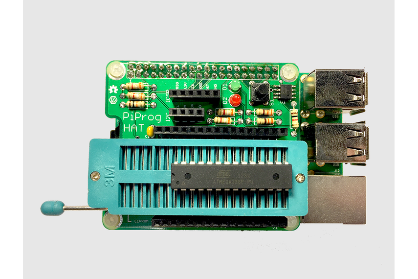 PiProg - Raspberry Pi EEPROM and ICSP Programmer