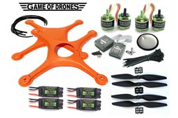 ASL Certified  DIY Drone Kit (Orange)