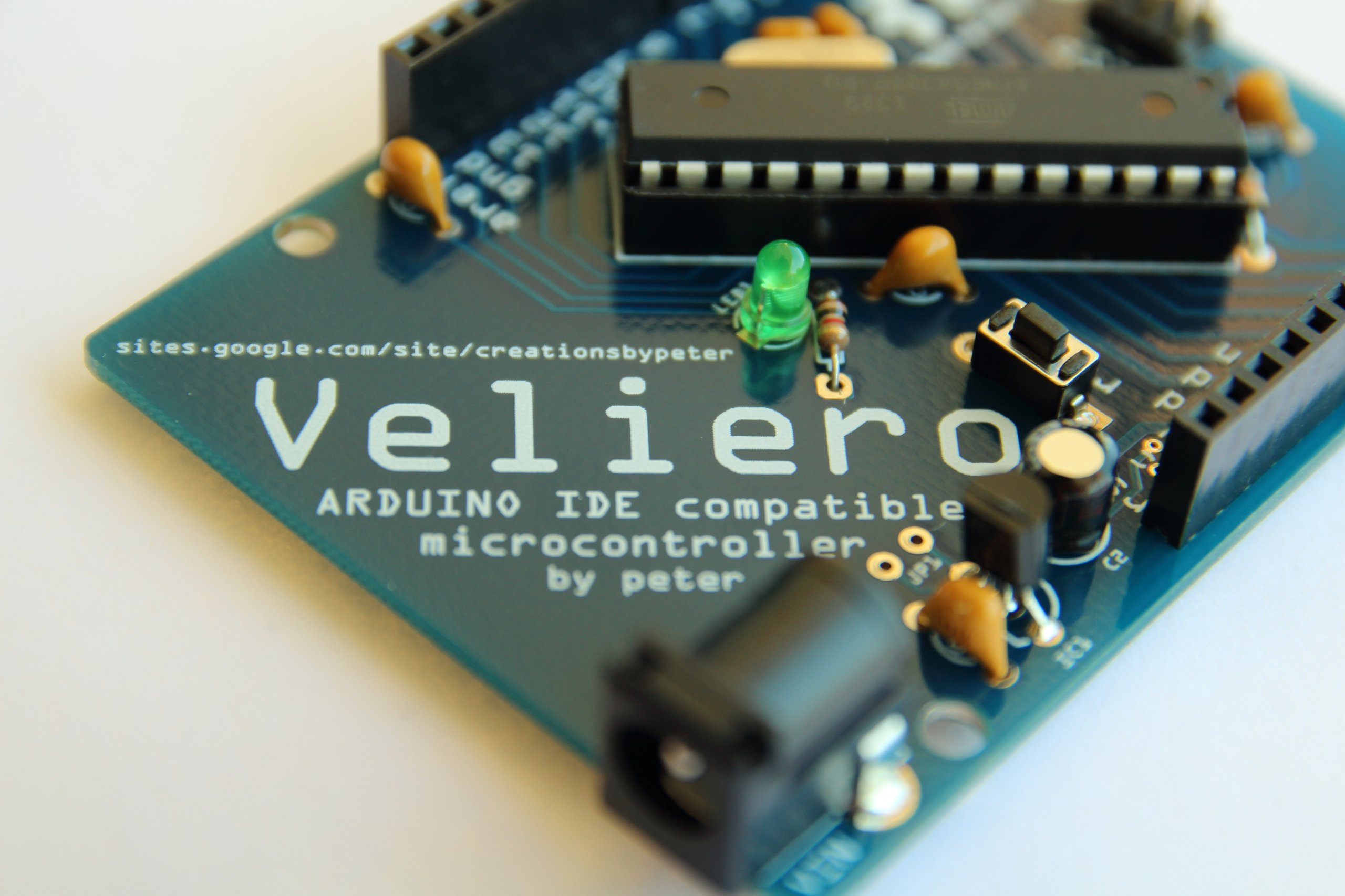 Veliero open arduino compatible microcontroller from