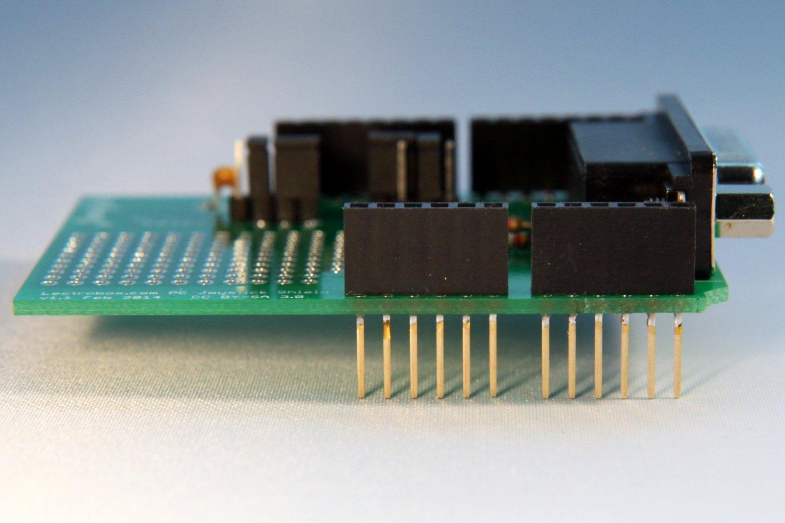Arduino joystick shield for db pc joysticks from