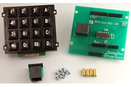 Arduino Keypad Shield with 16-Button Matrix Keypad