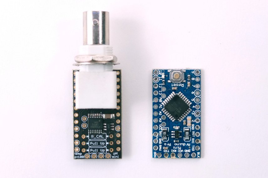 Ph mini shield for arduino from cyberplant on tindie
